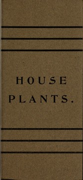 Tropical plants best adapted for the house PDF