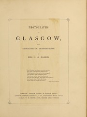 Photographs of Glasgow