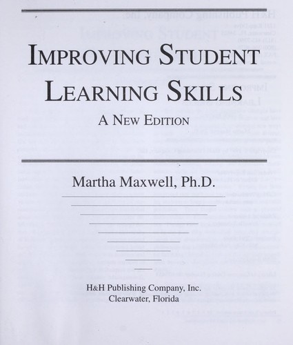 Improving student learning skills