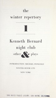 Night club & other plays PDF