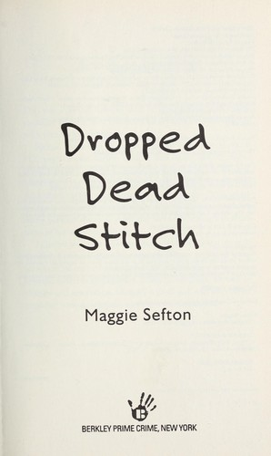 Dropped dead stitch