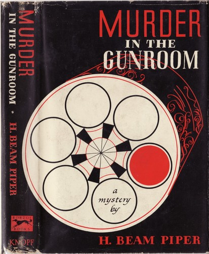 Murder in the gunroom.