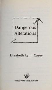 Dangerous alterations PDF