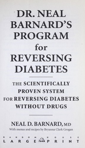 Download Dr. Neal Barnard's program for reversing diabetes