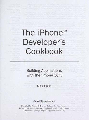 Download The iPhone developer's cookbook