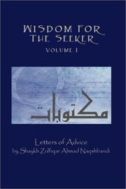 Wisdom for the Seeker, Volume I PDF