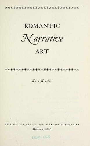 Download Romantic narrative art.