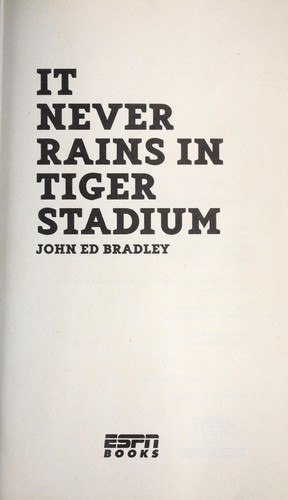 Download It never rains in Tiger Stadium