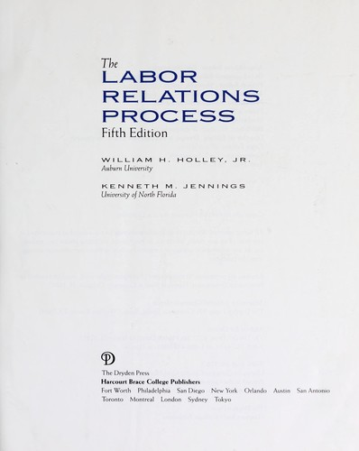 Download The labor relations process