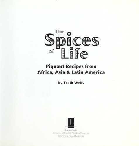 The spices of life