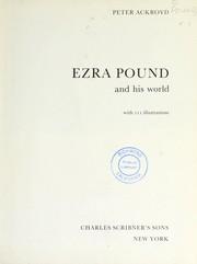 Ezra Pound and his world PDF