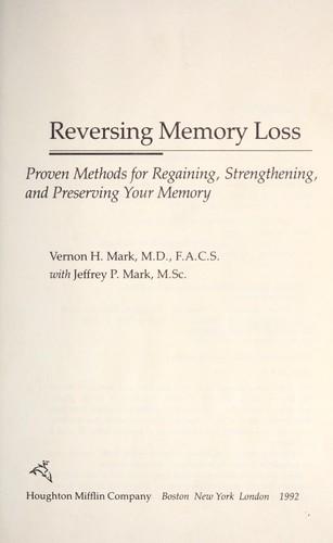 Download Reversing memory loss