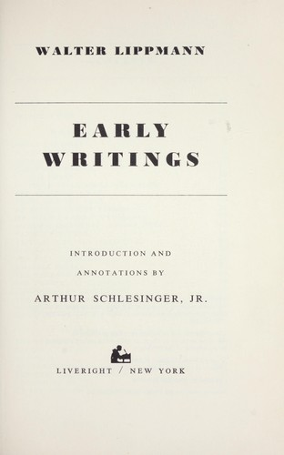 Download Early writings.
