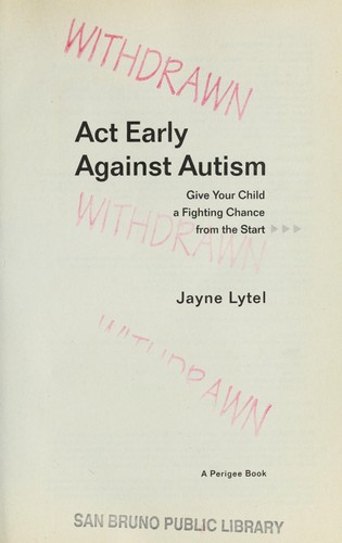 Download Act early against autism