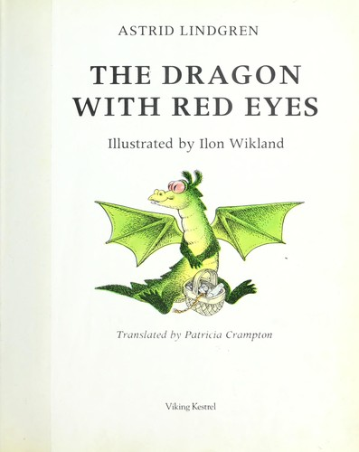 The dragon with red eyes