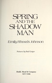 Spring and the shadow man PDF