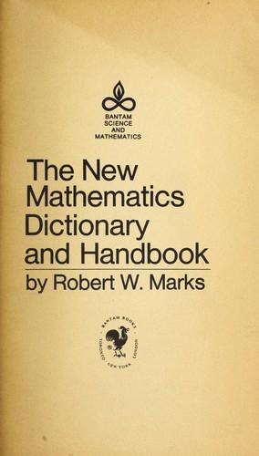 Download The new mathematics dictionary and handbook