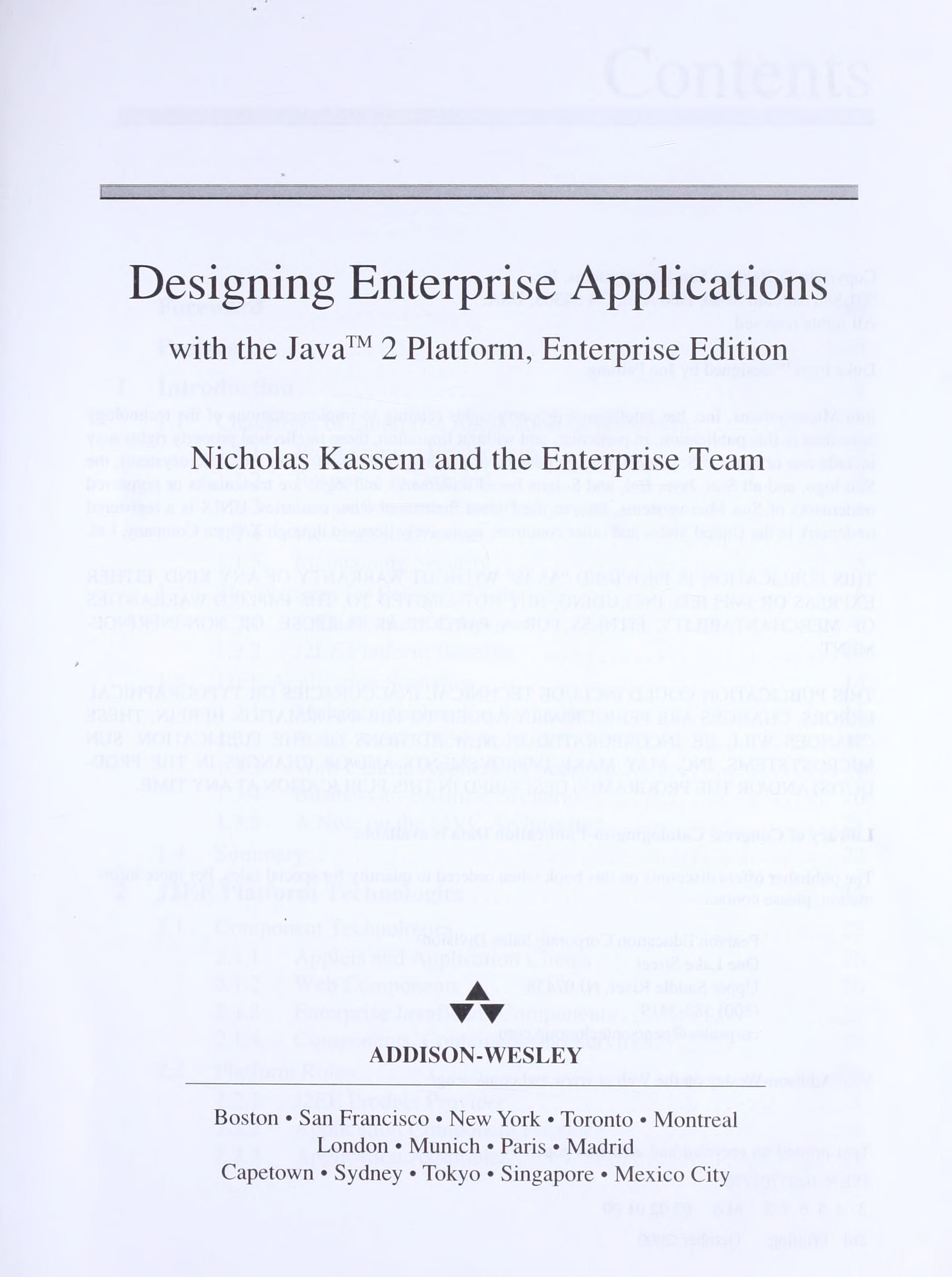 Sun Microsystems Java Ebook