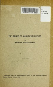 The Indians of Washington Heights PDF