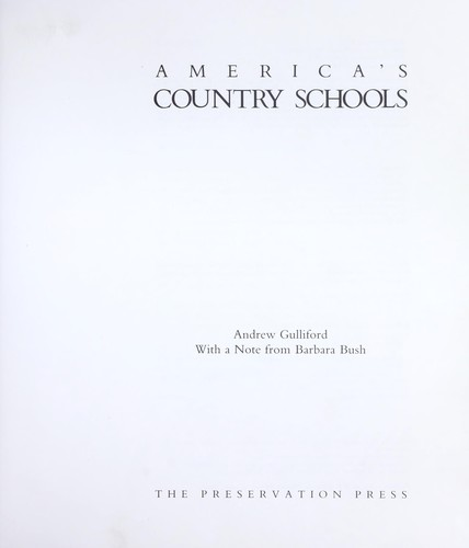 Download America's country schools