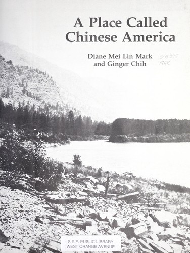 A place called Chinese America