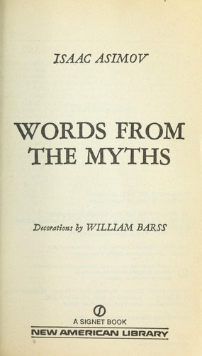 Words from the Myths