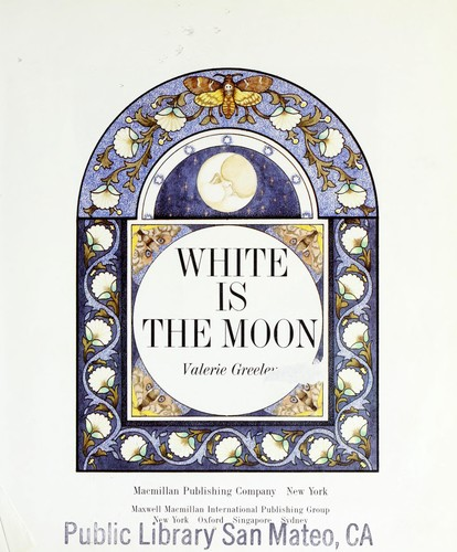 White is the moon