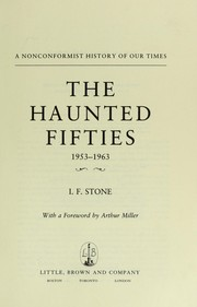 The haunted fifties, 1953-1963 PDF