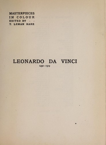 Download Leonardo da Vinci