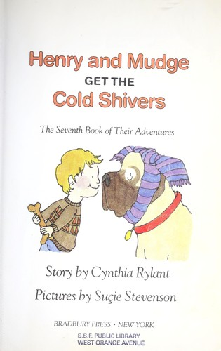 Download Henry and Mudge get the cold shivers