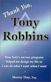 Thank You, Tony Robbins PDF