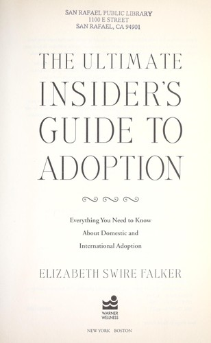 The ultimate insider's guide to adoption