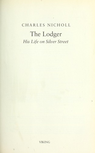 Download The lodger
