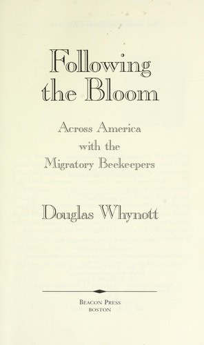 Following the bloom