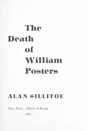 The death of William Posters.