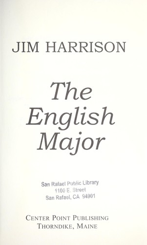 Download The English major
