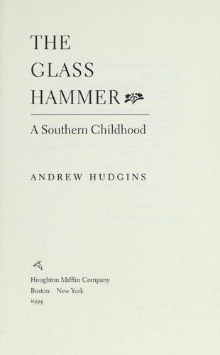 The glass hammer