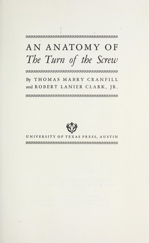 Download An anatomy of The turn of the screw