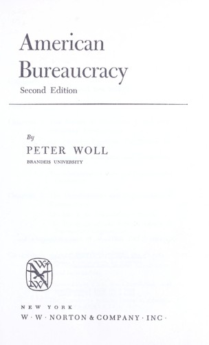 Download American bureaucracy