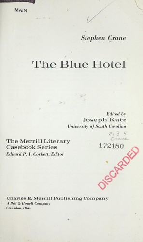 The blue hotel.