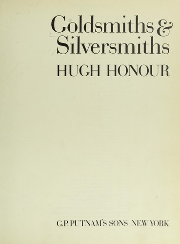 Download Goldsmiths & silversmiths.