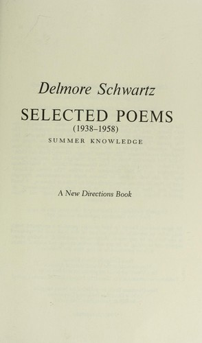 Selected poems (1938-1958)