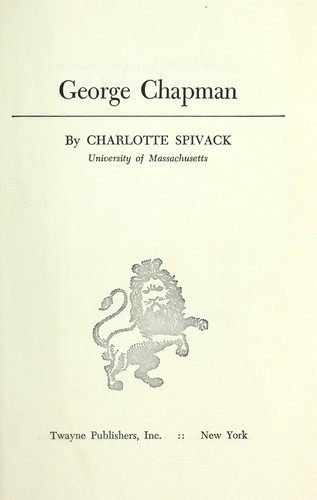 Download George Chapman.