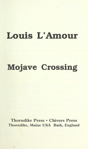 Download Mojave crossing