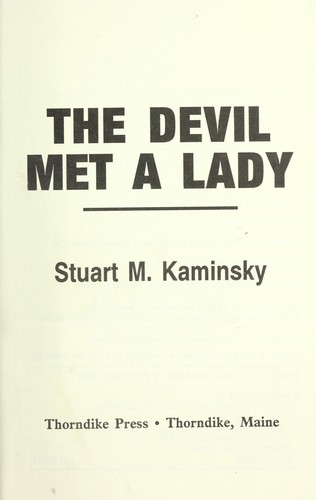 Download The devil met a lady