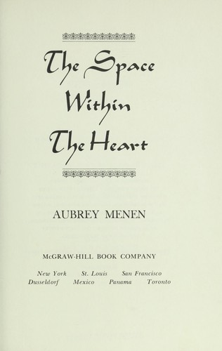 The space within the heart.
