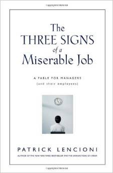 Download The three signs of a miserable job