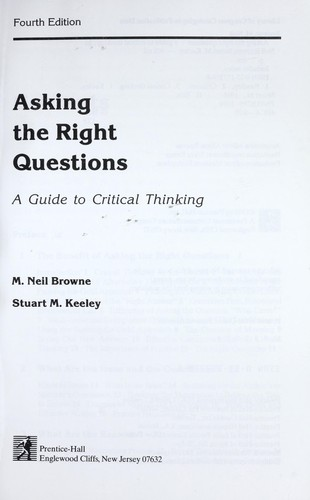Download Asking the right questions