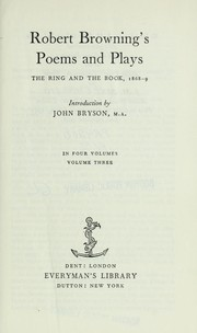 The ring and the book, 1868-9 PDF