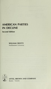 American parties in decline PDF